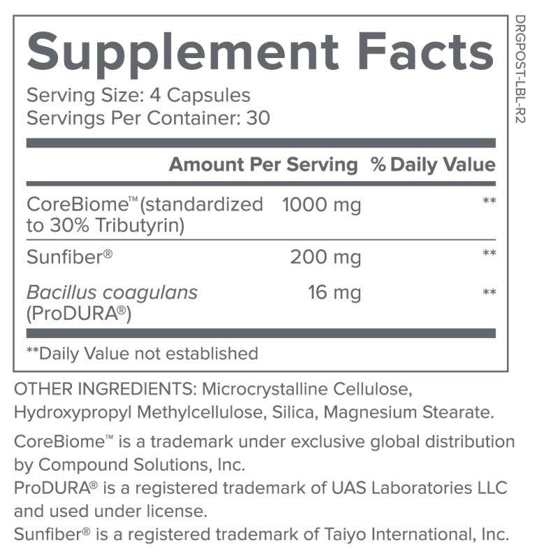 Bio Complete 3 supplement Facts
