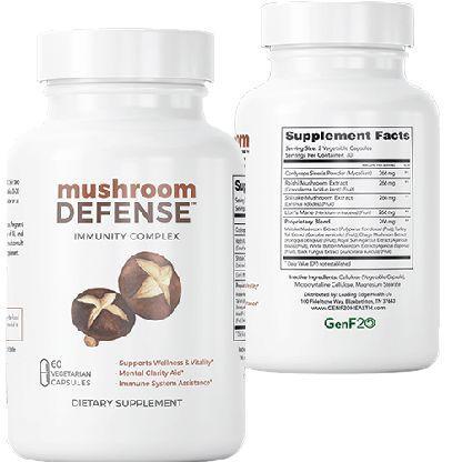 Mushroom Defense Supplement Facts