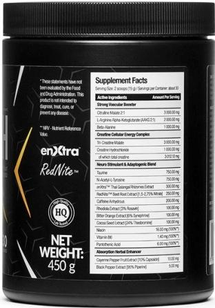 Nutrigo Lab Strength Supplement Facts