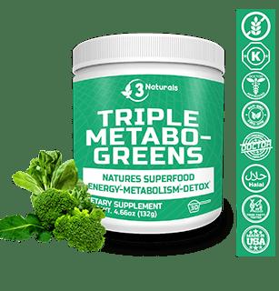 Triple Metabo Greens Ingredients