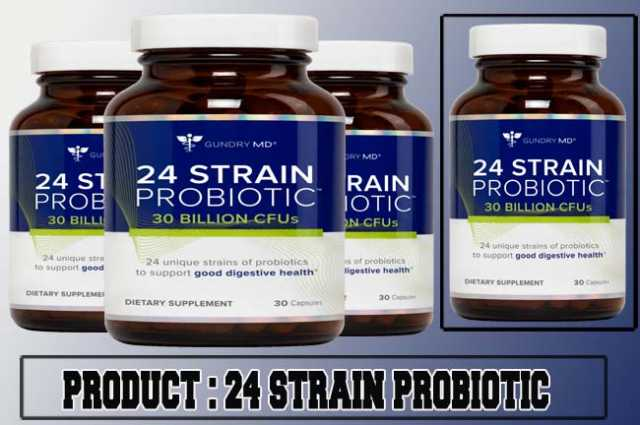 24 Strain Probiotic Review