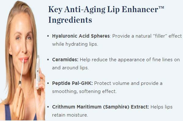 Beverly Hills Anti-Aging Lip Enhancer Ingredients