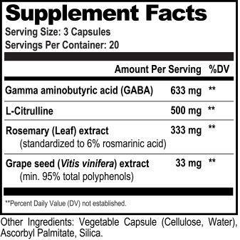 GABA Brain Food Ingredients