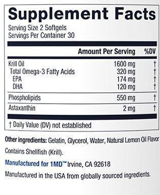 KrillMD ingredients