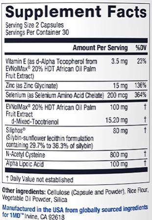 LiverMD ingredients