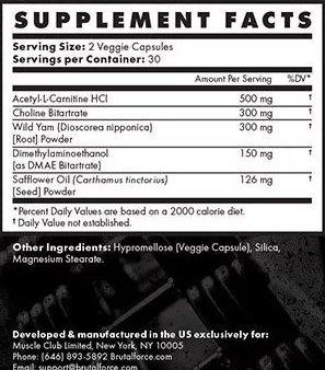 Radbulk Ingredients