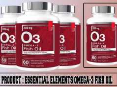 Essential Elements Omega-3 Fish Oil Review