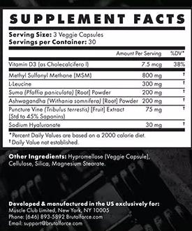Ligabulk ingredients