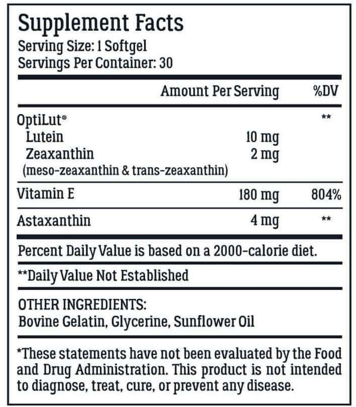OptiWell ingredients