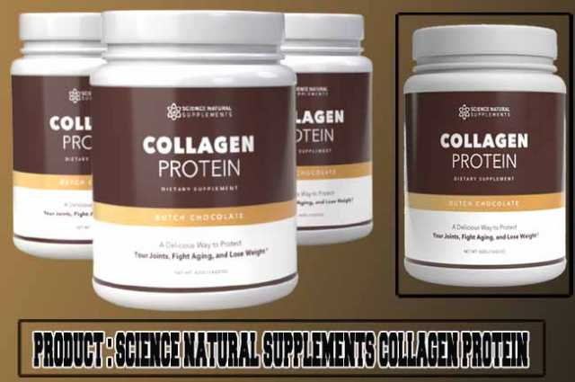 Science Natural Supplements Collagen Protein Review