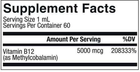 Vegan B12 ingredients